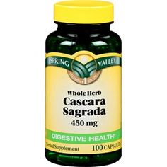 Digestive health. Cascara Sagrada is a natural laxitive made from a bark of a tree. :)