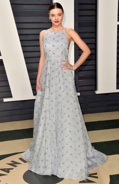 102Awesome Oscars Weekend OutfitsYou Didn't See - but Can't Miss - Miranda Kerr in Miu Miu