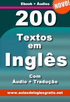 Baixar 200 Textos em Inglês com áudio