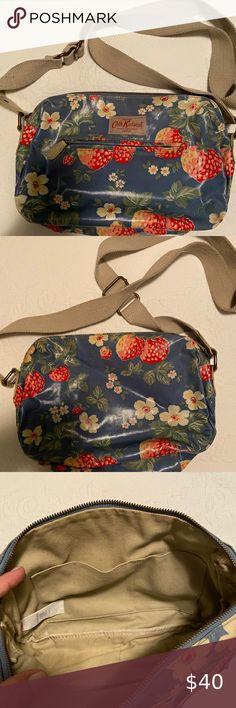 Handmade nappy wipe changing pouch holder wallet Kidston London Scene