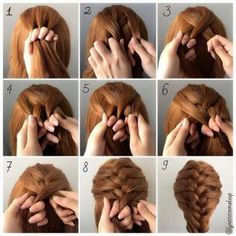 Fashionable-Braid-Hairstyle-for-Shoulder-Length-Hair3