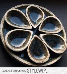 niecodzienny zestaw naczyń ceramicznych - Ceramika i sz…