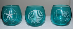 Set of 3 votive candle holders by 5FlippingFireflies on Etsy, $25.00