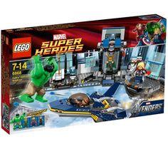 Lego Marvel Super Heroes Hulk's Helicarrier Breakout Building Set #6868 New  #LEGO