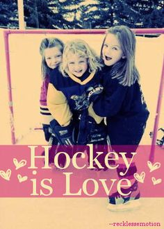 than goals on ice.for my girls who share the live i have Hockey Women's Hockey, Blackhawks Hockey, Hockey Girls, Hockey Players, Youth Hockey, Valentines For Boys, Coach Gifts, A Perfect Day, World Of Sports