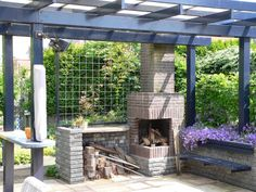 Houten veranda in tuin houten veranda pinterest verandas tuin and met - Allee tuin idee ...