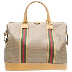 961a846d35138c Gucci Duffel Bag / Carry-On Bag - Boston Sherry Micro Gg Web Duffle 869498  Canvas Weekend/travel Bag Canvas