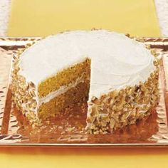 Pumpkin Pie Cake Recipe from Taste of Home -- shared by Linda Murray of Allenstown, New Hampshire