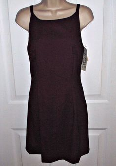 La Belle Sheath Maroon Stretch Fitted Spaghetti by outoftheattic2u, $22.99