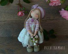 PiccoleBambole: Per un'adolescente romantica che ama lo stile shabby. Doll, rose, sabby