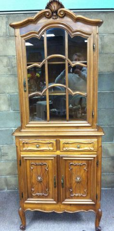 Electronics, Cars, Fashion, Collectibles, Coupons and China Cabinet, Cupboard, Baby Items, Cabinets, Corner, Carving, Storage, Stuff To Buy, Ebay