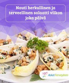 Nauti herkullinen ja terveellinen salaatti viikon joka päivä  Salaatti on hyvin #terveellinen ateria, joka voidaan valmistaa eri #raaka-ainein. Sitä voidaan muokata niin, ettet tylsisty tyypillisiin #yhdistelmiin.  #Reseptit