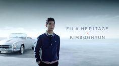 GUY CANDY: Kim Soo Hyun is flawless for FILA Korea