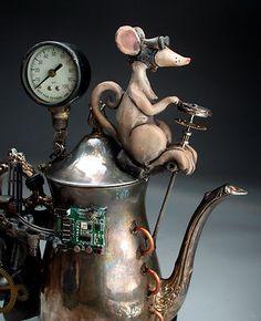 Steampunk Teapot Hybrid ...