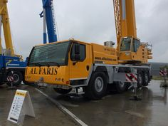 Visit To Liebherr Ehingen Customer Day 2015 - Mobile Cranes Line Up | Cranepedia