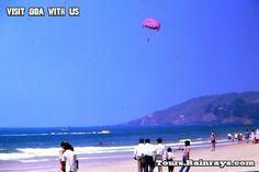 Tourist Attraction India: Baga Beach Goa  | family vacation india