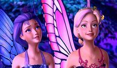 Barbie Mariposa- Look at that sky