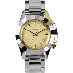 Nixon Monarch Watch ($300) ❤ liked on Polyvore