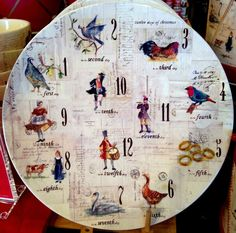 "New William-Sonoma / Pottery Barn 12 days of Christmas Dessert Cake Plate 13.5"" #WilliamsSonoma"