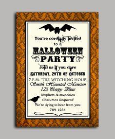 halloween invitation mr bones skeleton party in 2018 halloween