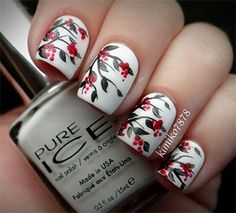 Creative Winter Nail Art Designs Ideas For Girls 2013 2014 4 Creative Winter Nail Art Designs & Ideas For Girls 2013/ 2014