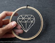Hey, I found this really awesome Etsy listing at https://www.etsy.com/listing/188158914/diamond-metallic-embroidery-in-wooden