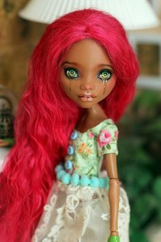 Monster High OOAK Clawdeen Little Girl Crying   eBay
