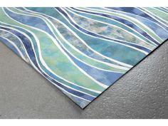 Trans Ocean Visions Iii Wave x Ocean Area Rug Home Decor Shops, Luxury Home Decor, Online Home Decor Stores, Large Area Rugs, Blue Area Rugs, Small Rugs, Ocean Rug, Rectangular Rugs, Entryway Rug