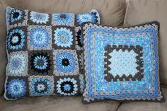 Sugar Plum Tart: Crochet cushion covers