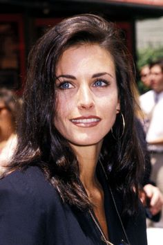 30 Celebs Who Rocked Brown Lipstick WAY Before Kylie  #refinery29  http://www.refinery29.com/2015/12/99147/90s-celebrity-brown-lipstick-trend-pictures#slide-10   Courteney CoxAnother Friend demonstrates how well a brown lip works with another '90s trend we've seen repurposed lately — the reverse-part hair flip....