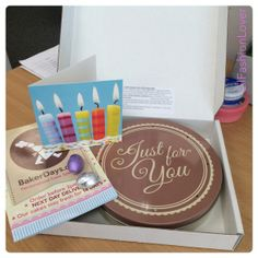 REWIEW – Baker Days Personalised Letterbox Cake | lilfashionlover