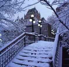 Château Frontenac l'hiver