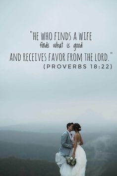 Jess and Gabriel Conte & Proverbs 18:22