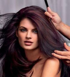 Shine bright like a diamond Chocolate Cherry Hair Color, Cherry Hair Colors, Fall Hair Colors, Deep Red Hair Color, Fall Hair Color For Brunettes, Cool Hair Color, Brunette Color, Brunette Hair, Pale Skin