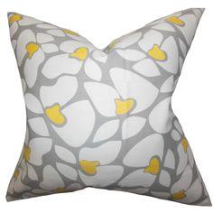 Zaza Geometric Cotton Throw Pillow