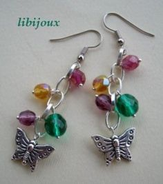 Diy Jewelry, Jewelery, Handmade Jewelry, Metal Jewelry, Stone Earrings, Bead Earrings, Craft Organization, Bead Crafts, Quilling