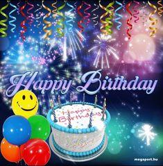 Top Happy Birthday Wishes Gif Images - Birthday Gif Happy Birthday Ballons, Animated Happy Birthday Wishes, Cute Birthday Wishes, Happy Birthday Greetings Friends, Happy Birthday Pictures, Happy Birthday Greeting Card, Happy Birthday Messages, Happy Birthday Quotes, Birthday Gifs