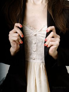 Beautiful blush colored lace!