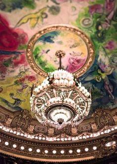 Chagall ceiling of l'Opéra Garnier, Paris