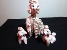 Pink Spaghetti Poodle Vintage by virtualvic on Etsy, $45.00