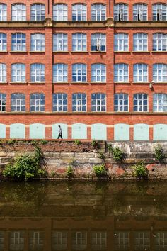 Took a walk around on a sunny day in Ancoats, Manchester. This is just beside the canal looking onto the old mill. Industrial Architecture, Photo Walk, Interesting Buildings, Working Class, Sunny Days, Manchester, 1970s, The Neighbourhood, Past