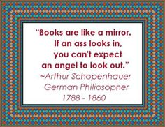 Books, Mirrors, Asses & Angels - hmmm  - many items with this #quote FOR SALE - please click image for more info.