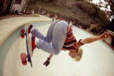 Retro 70's skate cool