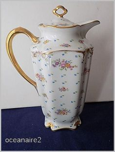 DESCRIPTION ---- The Limoges item is about 9 1/2 inches high. It is in good condition. No chips, crazing, repairs or cracks. SHIPPING ----Shipping weight will be 3 lbs. by Priority Mail or Parcel Sele
