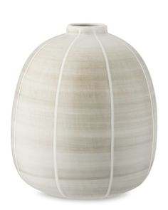 Watercolor Vase, Sand #williamssonoma  living room next to fireplace