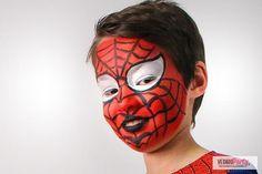 Tutorial per un fantastico make-up da Spiderman