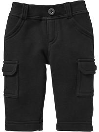 Terry-Fleece Cargos for Baby