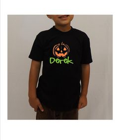 Hey, I found this really awesome Etsy listing at https://www.etsy.com/listing/163222161/personalized-halloween-cute-kids-shirt