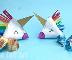 Toilet Paper Roll Unicorn Gift Box - Red Ted Art's Blog