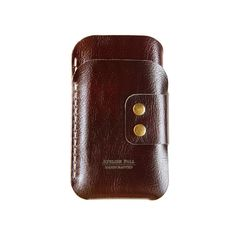 iPhone 6 Leather Wallet  by AtelierPALL iPhone 5S 5C 5 leather sleeve hand stitched duo oxblood leather card and cash
